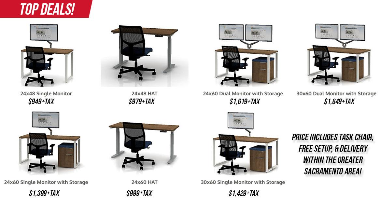 California Office Furniture, Furniture In Sacramento